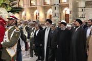 رئیس قوه قضائیه و مسئولان عالی قضایی با آرمانهای امام خمینی(س) و انقلاب اسلامی تجدید میثاق کردند