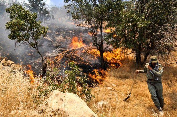 آتشسوزی مراتع گندمان مهار شد
