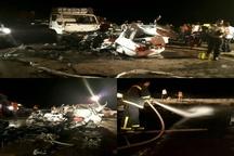 7 کشته و مصدوم بر اثر تصادف در محور اسدیه - بیرجند
