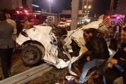 تصادف هولناک با ۷ کشته و مصدوم در مسیر قزوین-آبیک