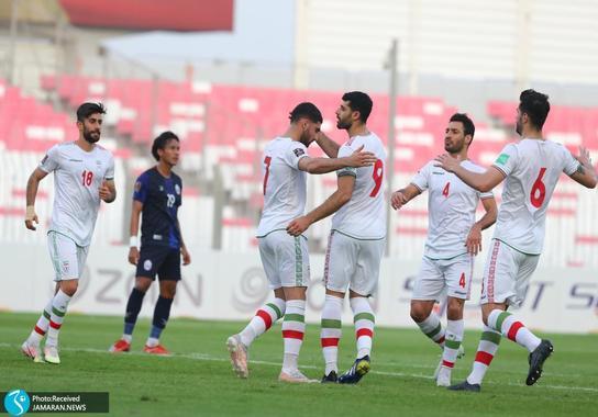 تیم ملی فوتبال ایران - ایران و کامبوج