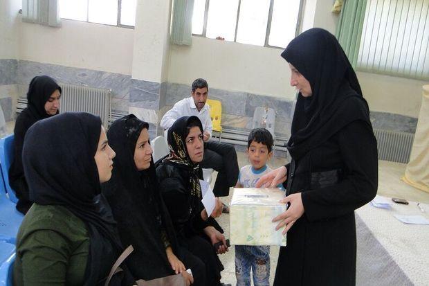 فضای مدارس آستارا انتخاباتی شد