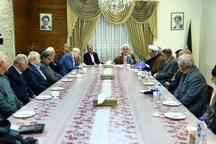دیدار زندانیان سیاسی رژیم ستمشاهی با استاندار قزوین
