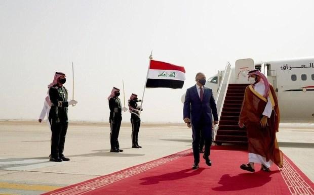 چرا نخست وزیر عراق به عربستان سعودی رفت؟/ هدف الکاظمی از دیدار با بن سلمان چه بود؟