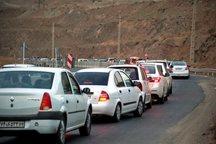 ترافیک در جاده قزوین-رشت نیمه سنگین است