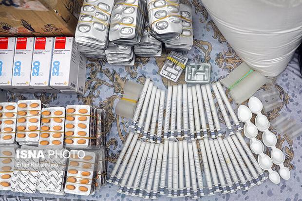 49 هزار قلم داروی تقلبی در اردبیل کشف شد