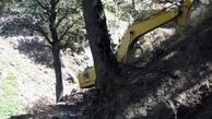 راه های فرعی جنگل ابر شاهرود مسدود شد