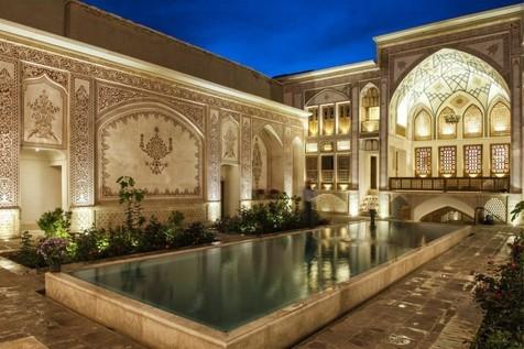 لوکس ترین خانه قدیمی ایران+ تصاویر