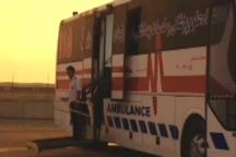 انتقال ۱۵ زائر مصدوم از خاک عراق به بیمارستان های مهران و ایلام