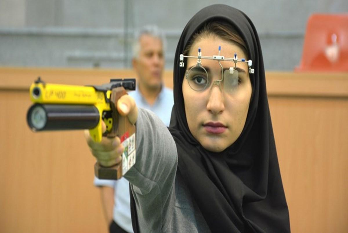 پرچمدار کاروان ایران: به المپیک امیدوارم/ با سلاح خودم می توانم رکورد بزنم