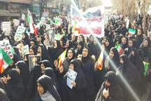 حماسه حضور و وحدت مردم خوی در راهپیمایی 22 بهمن